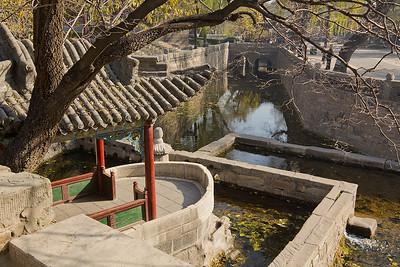 (CH-10189)  Jinci Temple area detail - Taiyuan.