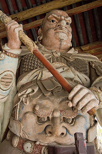 (CH-10184)  Clay sculpture at Jinci Temple area - Taiyuan.