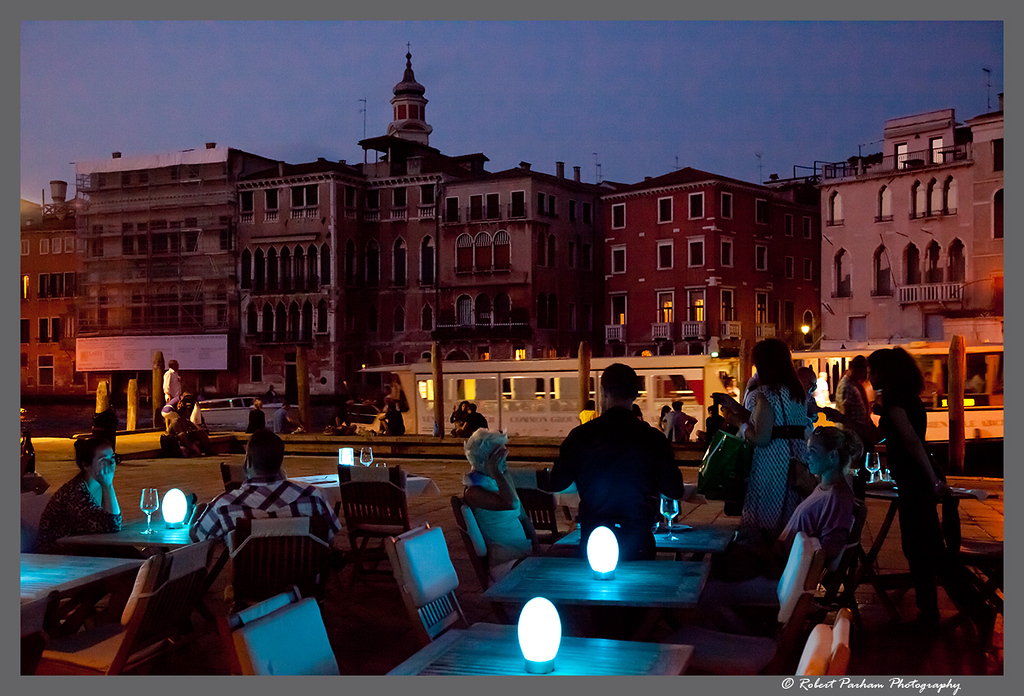 (VA-08)  Blue Light Dining - Venice.
