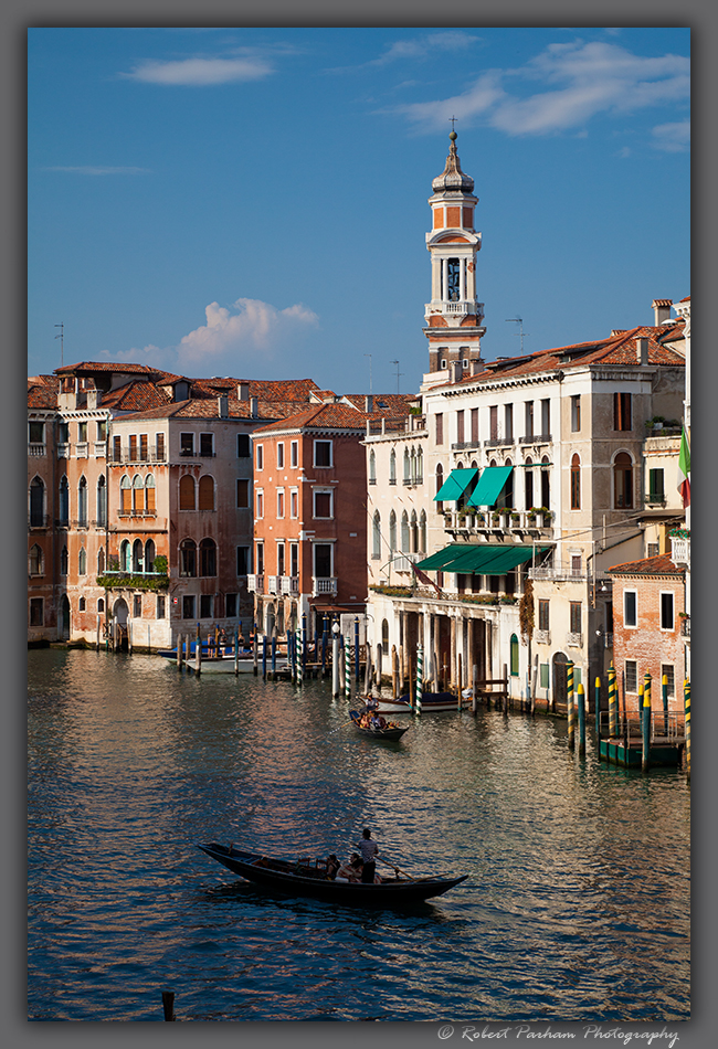 (VA-07)  Along the Grand Canal in Venice.