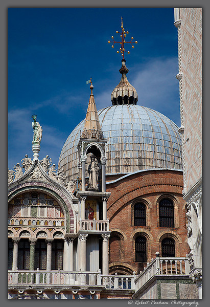 (VE-03) Saint Mark's Basilica, Venice.