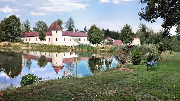Schloss Waldreichs im Waldviertal