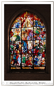 Window to honour J. Neander - author of one of the most famous hymns St. Martin's Church, Bremen, Germany
