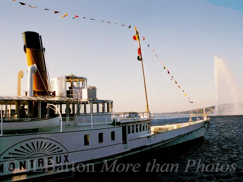 Lac Leman steamer