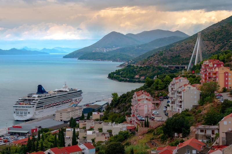 Dubrovnik Harbor And New Bridge - Dubrovnik, Croatia