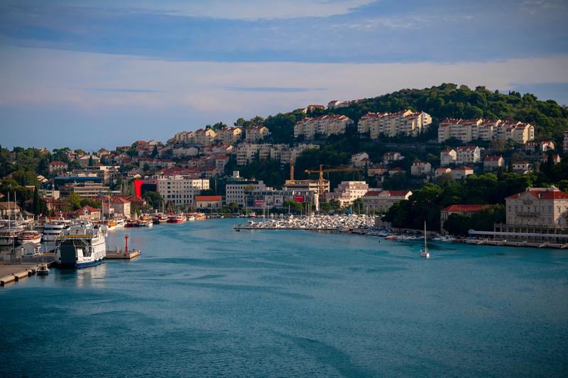 Inside The Cruising Harbor Of Dubrovnik_ - Dubrovnik, Croatia