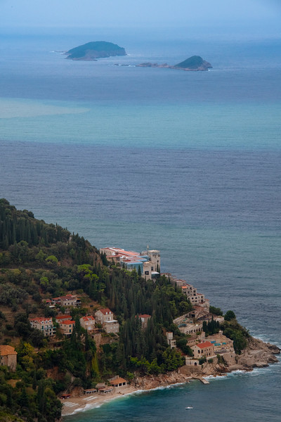 Looking Down At The Surrounding Islands Of Dubrovnik - Dubrovnik, Croatia