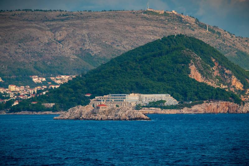 Passing The Small Islands Of Crotia - Dubrovnik, Croatia