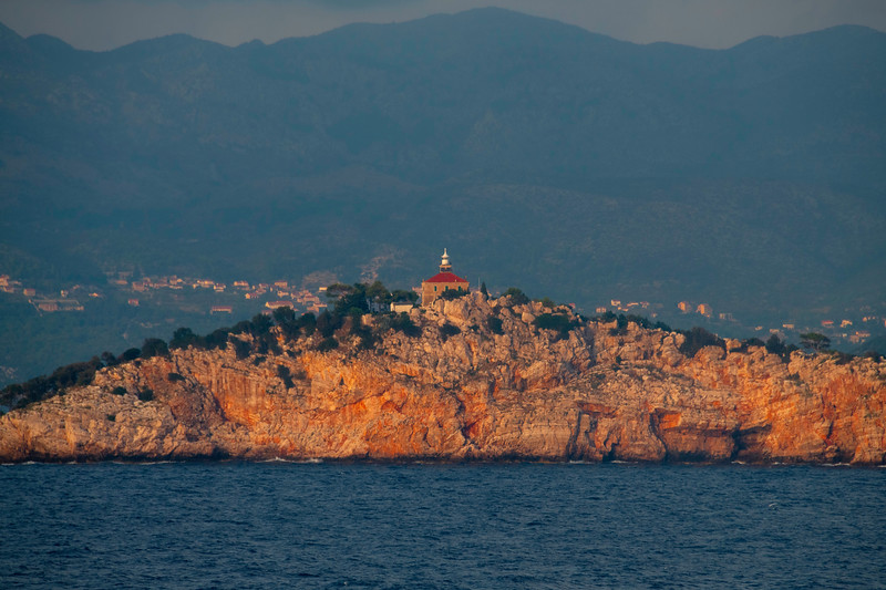 Warm Light Bouncing Off The Coastline Rocks - Dubrovnik, Croatia