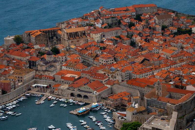 Old Dubrovnik From Above - Dubrovnik, Croatia