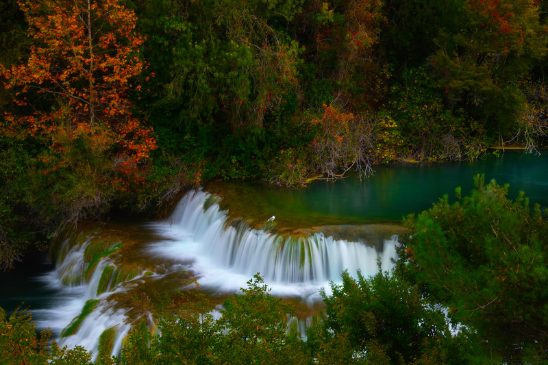 Steps Of Descending Colors - Krka National Park, Split, Croatia