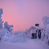 At The End Of The Frozen World - The Mix Of Morning Warmth And Blues - Iso-Syote, Finland