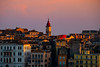 The Top Of The Rooftops At Twilight - Corfu, Greece