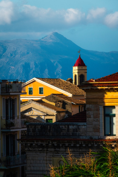 Inside The Old Town Of Corfu - Corfu, Greece