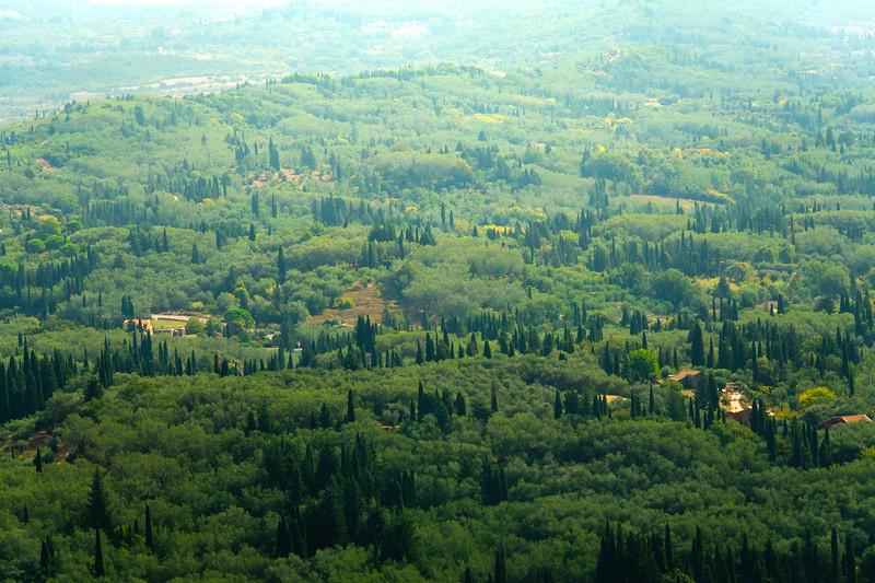 The Rolling Fertile Valley Of Corfu - Corfu, Greece
