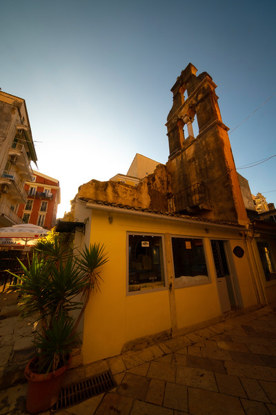 Remnants Of History Within The Old Corfu Town - Corfu, Greece