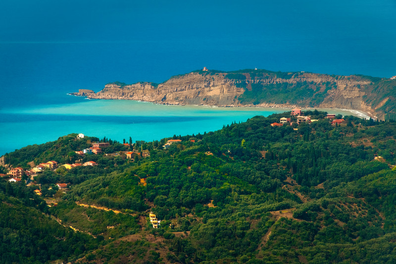 Nothing But The Colors Of The Sea -  Corfu, Greece