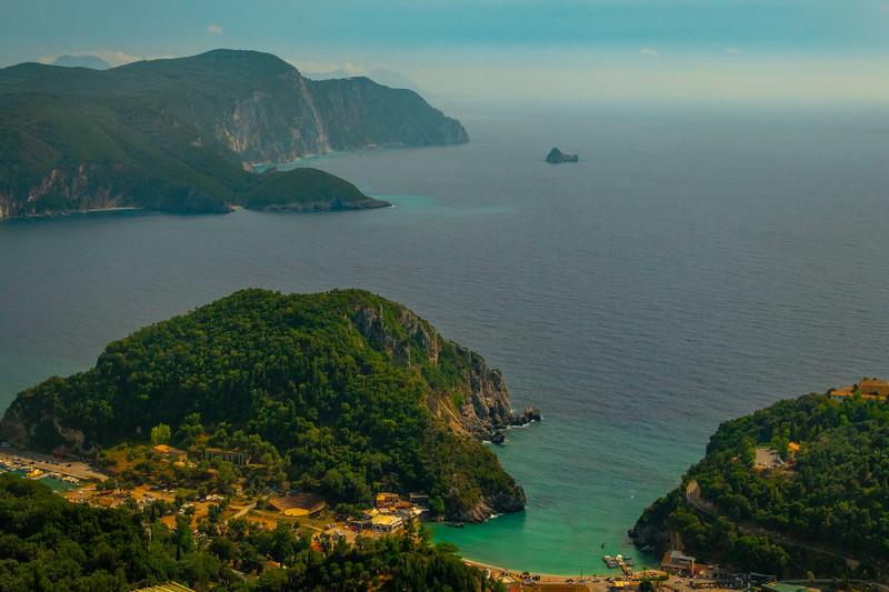 As Far As The Coastline Goes - Corfu, Greece
