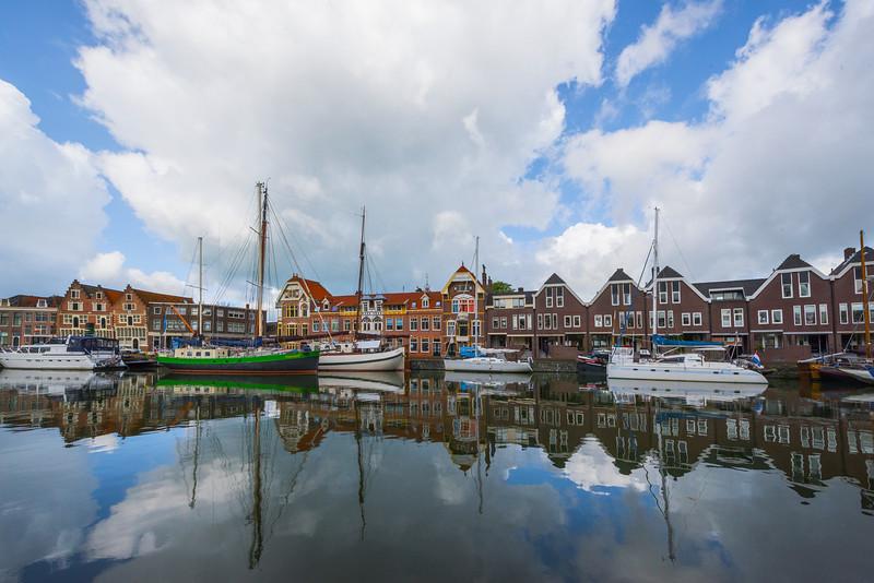City Reflections Of Hoorn