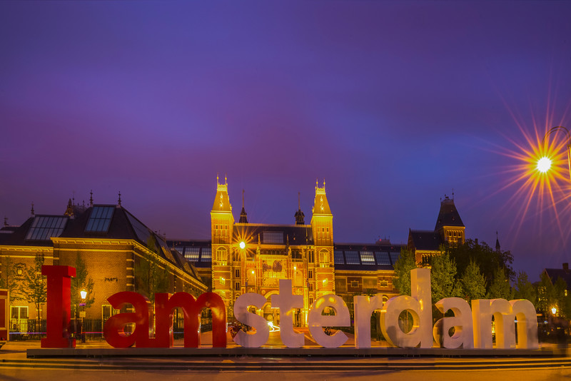 The Most Famous Spot In Amsterdam