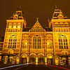 The Iconic Rijksmuseum At Night