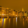 Quietness Beauty Of Amsterdam At Night