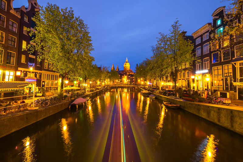 The Ins And Outs Of Night Traffic In Amsterdam