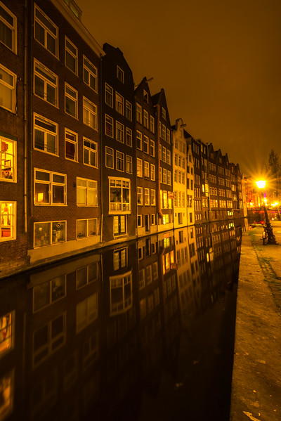 Canalside Apartments Reflected