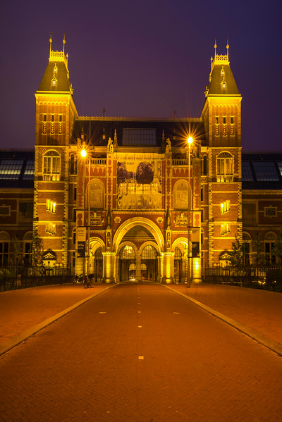 Entrance Into The Rijksmuseum