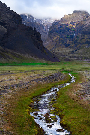 A Pathway To The Unknown - Near Kirkjubaejarklustur, South Iceland