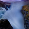 Looking Down The Cauldron - Gulfoss Waterfall, The Golden Circle, Southwest Iceland