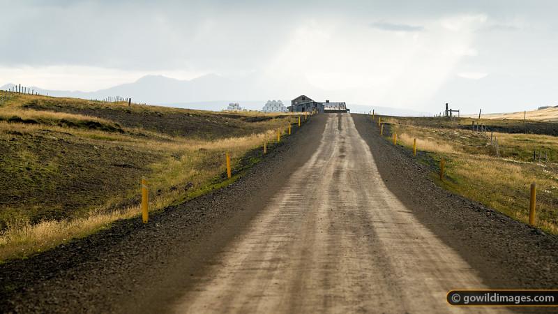 Farm country along Road 59