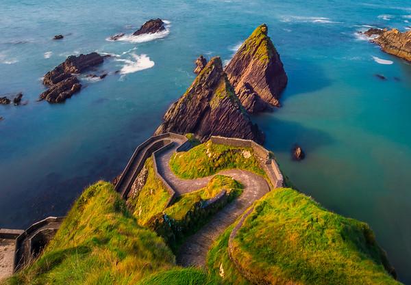 The Ferry Pier Of Dingle - The Dingle Peninsula, County Kerry, Ireland