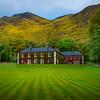 The Delphi Lodge In Color - Connemara Loop, County Galway, Ireland