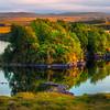 Autumn Gold Reflections - Connemara Loop, County Galway, Ireland