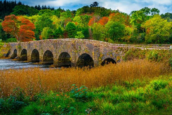 An Old Fashioned Bridge In Color - Sligo, Sligo County,  Ireland