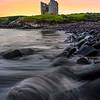 Rushing Water At Minard Castle Beach -  County Kerry, Dingle Peninsula, Ireland