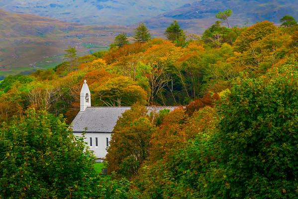Tucked In Color - Connemara Loop, County Galway, Ireland