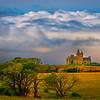 A Ray Of Light On The Castle - Mullaghmore Castle, Sligo, Sligo County,  Ireland