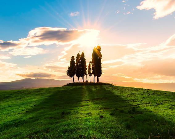 Light And Shadows Of Tuscany - Val d'Orcia Region, Tuscany, Italy