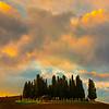 Turbulent Skies - Val d'Orcia Region, Tuscany, Italy