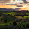The Glorious Hills Of Tuscany - Val d'Orcia Region, Tuscany, Italy