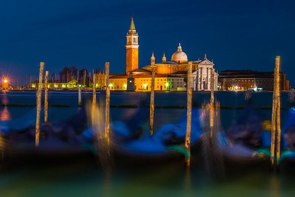 The Abstract Look Of Gondolas Of Italy - Venice, Italy