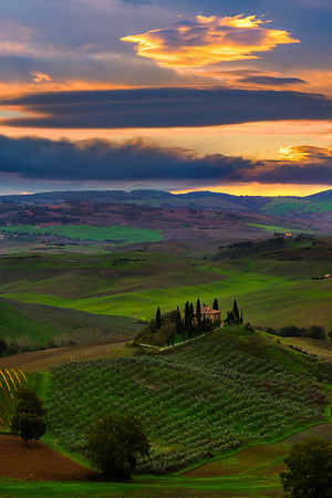 The Iconic Belvedere - Val d'Orcia Region, Tuscany, Italy
