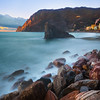 The Coast Of Italy During The Magic Hours - Cinque Terre, Italian Rivera, Italy