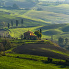 Amongst The Hills Of Light - Val d'Orcia Region, Tuscany, Italy