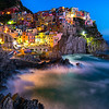 The Nighttime Beauty Of Italy - Cinque Terre, Italian Rivera, Italy