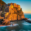 The Golden Hour - Cinque Terre, Italian Rivera, Italy