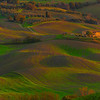 The Smooth Patterns Of Tuscany - Val d'Orcia Region, Tuscany, Italy