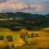 Patterns Of Autumn- Val d'Orcia Region, Tuscany, Italy